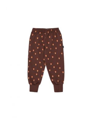 Tiny Cottons Mushrooms Sweatpant Ultra Brown/Red