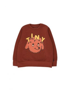 Tiny Cottons Tiny Dog Sweatshirt Dark Brown/Sienna