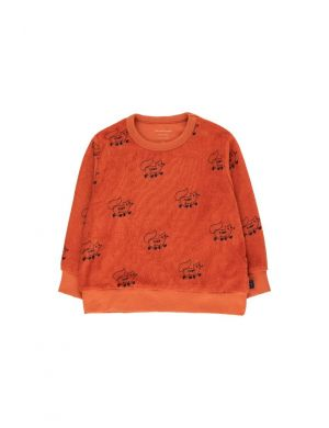 Tiny Cottons Foxes Sweatshirt Brown