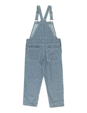 Tiny Cottons Stripes Denim Overall