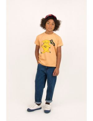 Tiny Cottons Dog Tee Camel/Yellow