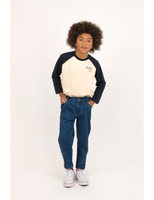 Tiny Cottons Pretzel Ride Color Block Tee