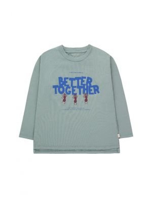 Tiny Cottons Better Together Tee Foggy Blue/Ultramarine