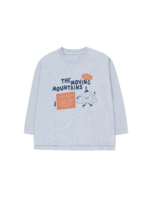 Tiny Cottons Moving Mountains Secret Tee Milky Sky