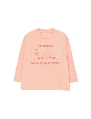 Tiny Cottons Tiny Explorers Longsleeve Rose/Red