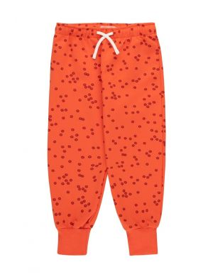 Tiny Cottons Daisies Sweatpant Red/Deep Burgundy