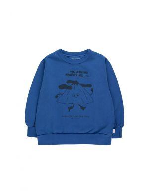 Tiny Cottons Moving Mountains Sweatshirt Ultramarine/Deep Blue