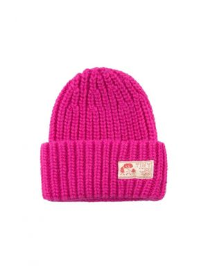 Tiny Cottons Solid Beanie Fucsia