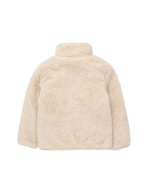 Tiny Cottons Polar Sherpa Jacket Light Cream