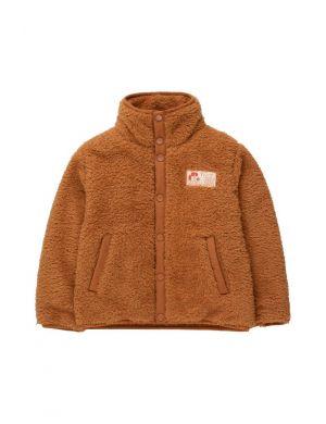 Tiny Cottons Polar Sherpa Jacket Toffee