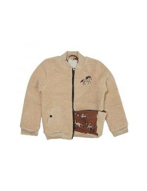 CarlijnQ Teddy Bomber Jacket Wild Horse