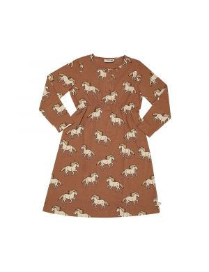 CarlijnQ 2 Button Dress Wild Horse