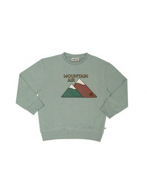 CarlijnQ Sweater with Print Mountain Air