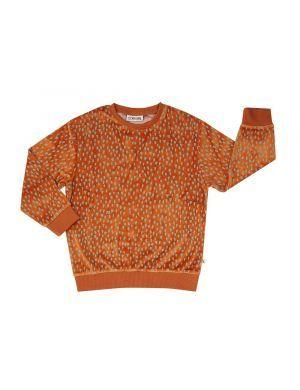CarlijnQ Velours Sweater Mountain Air Sparkles