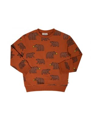 CarlijnQ Sweater aop Grizzly