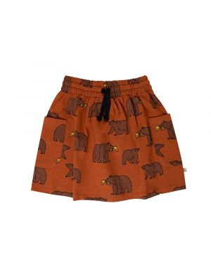 CarlijnQ Skirt with Pockets Grizzly