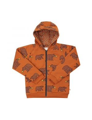 CarlijnQ Bomber Hoodie Grizzly