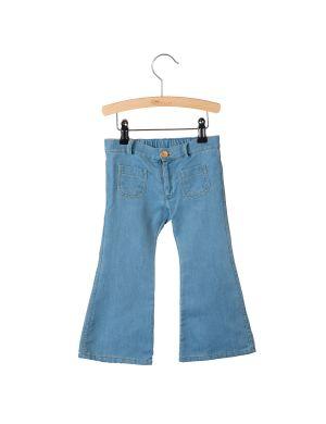 Little Hedonist 4-Pocket Flared Pants Bay Denim