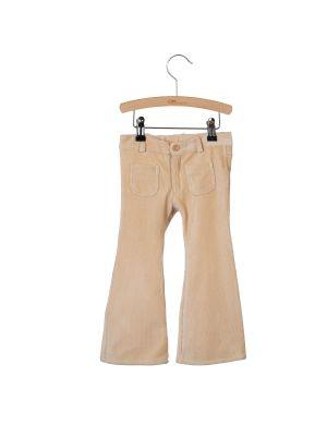 Little Hedonist 4-Pocket Flared Pants Bay Smoke Grey