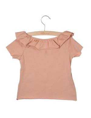 Little Hedonist T-shirt Bella Cameo Rose
