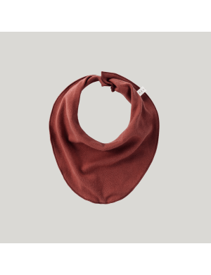 Susukoshi - Organic Baby Bib Burnt Orange