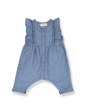 1+ in the family Cabrera denim overall