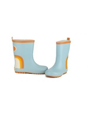 Grech and Co Rain Boots - Light Blue