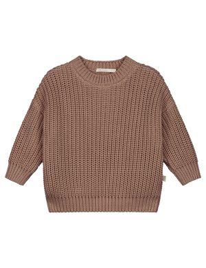 Yuki Kidswear Chunky Knitted Sweater Mist
