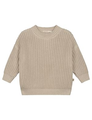 Yuki Kidswear Chunky Knitted Sweater Moon