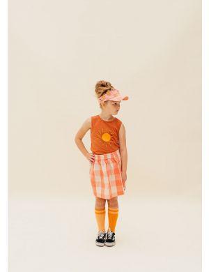CarlijnQ Checkers Skirt