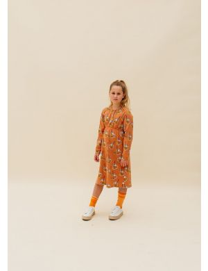 CarlijnQ Knee Socks Contra Orange