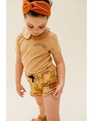 CarlijnQ Ruffled Shorts Summer Fruit