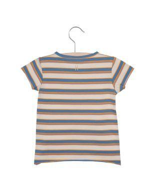 Little Hedonist T-shirt Dean Multi Stripe