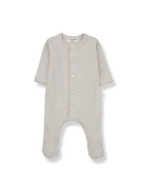 1+ in the family Delphine Jumpsuit Ecru