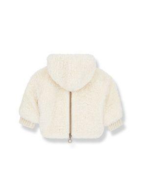 1+ in the family Emile Jacket Furry Ecru