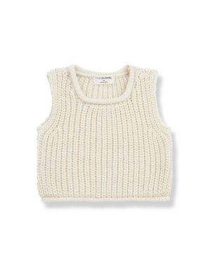 1+ in the family Gabriel Sweater Ecru