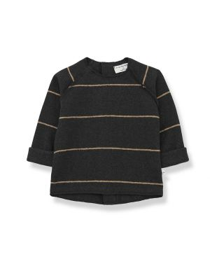 1+ in the family Gaspard Sweater Charcoal