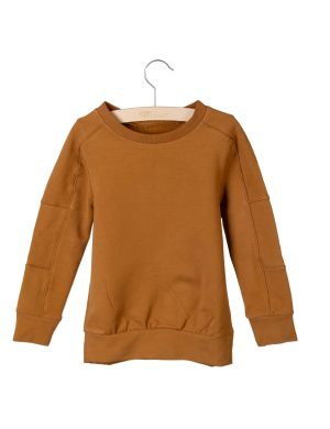 Little Hedonist Sweater Grady Caramel Brown