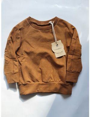 Little Hedonist Sweater Grady Caramel Brown