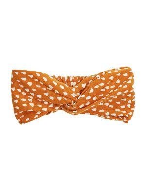 CarlijnQ Twisted Headband Golden Sparkles