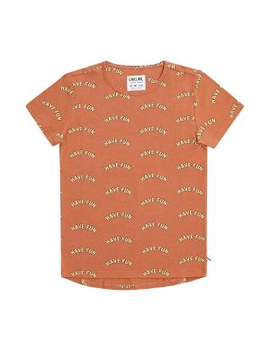 CarlijnQ Short Sleeve Dropback T-shirt Have Fun