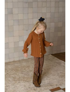 House of Jamie Collar Blouse Ginger Bread