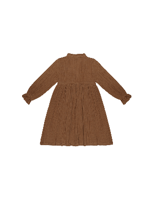 House of Jamie High Waist Dress Ginger Bread