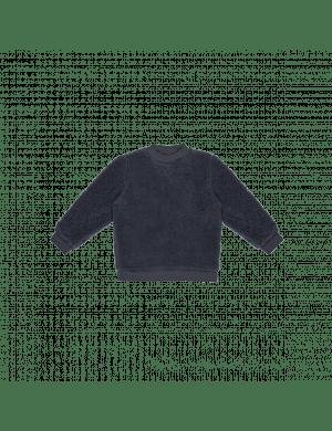 House of Jamie Teddie Crewneck Sweater Vintage Blue
