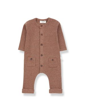 1+ in the family Hudson Jumpsuit Toffee
