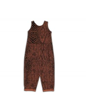 Cos I said So Jumpsuit Snake Print Chutney