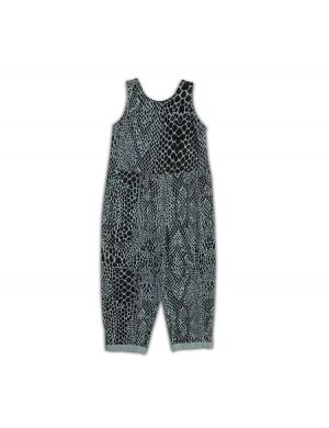 Cos I said So Jumpsuit Snake Print Tourmaline