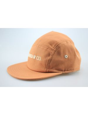 Grech and Co Capsie Panel Hat - Spice