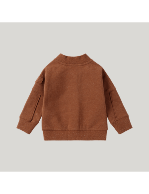 Susukoshi - Jacket Fleece Caramel Speckled
