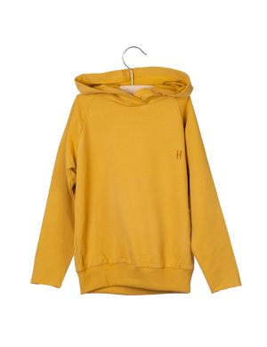 Little Hedonist Hooded Sweater Joy Amber Gold